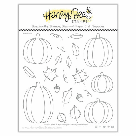 Honey Bee Stamps Pumpkin Patch