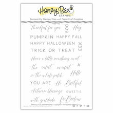 Load image into Gallery viewer, FaBOOlous Sentiments | 4x6 Stamp Set