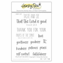 Load image into Gallery viewer, Fruits Of The Spirit | 3x4 Stamp Set