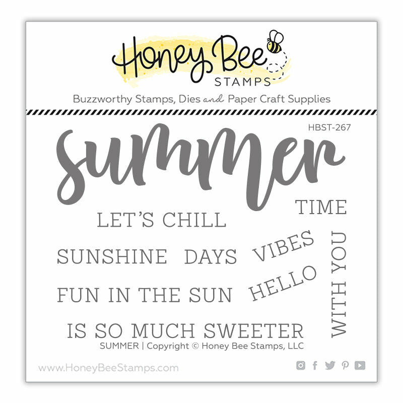 Load image into Gallery viewer, Summer | 3x4 Stamp Set