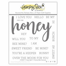 Load image into Gallery viewer, Honey | 4x4 Stamp Set