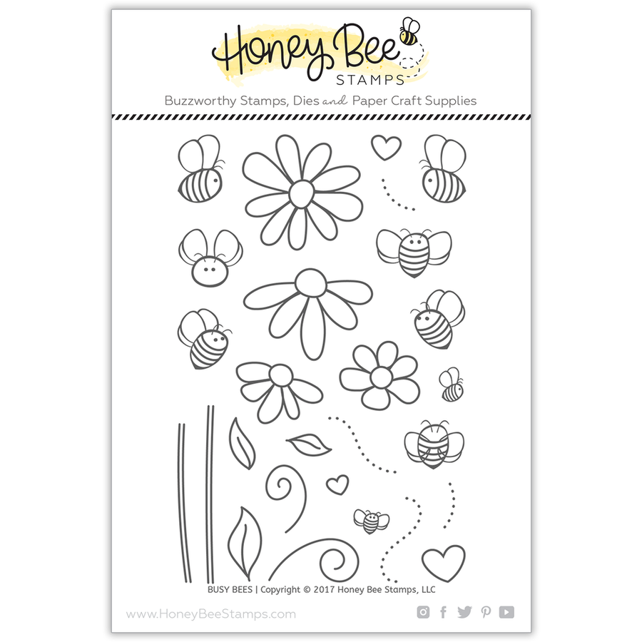 Busy Bees | 4x6 Stamp Set