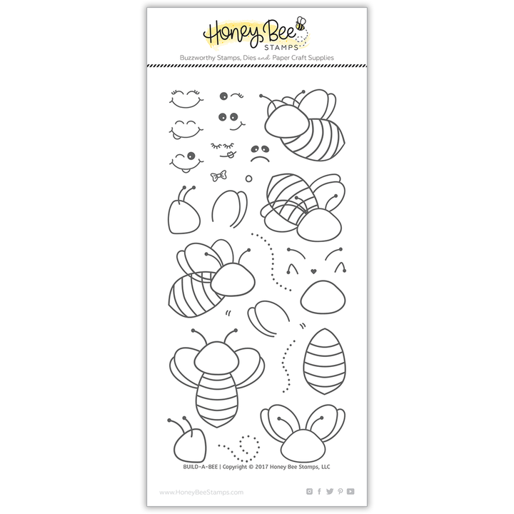 Build-A-Bee | 4x8 Stamp Set