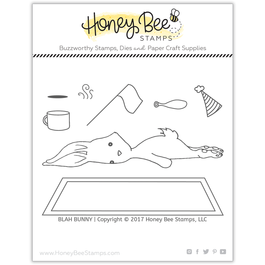 Blah Bunny | 3x4 Stamp Set