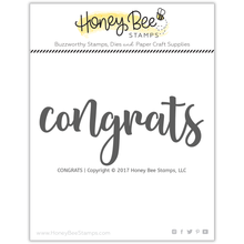 Load image into Gallery viewer, Congrats | 2x4 Stamp Set