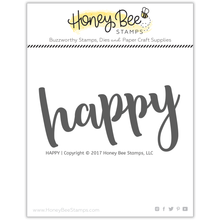 Load image into Gallery viewer, Happy | 2x4 Stamp Set