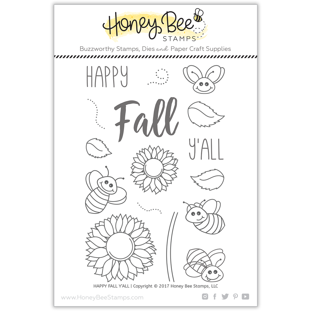 Load image into Gallery viewer, Happy Fall Y'all | 4x6 Stamp Set