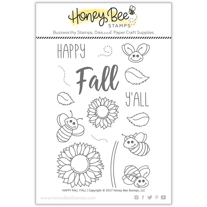 Happy Fall Y'all | 4x6 Stamp Set