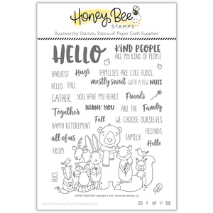 Gather Together | 6x8 Stamp Set