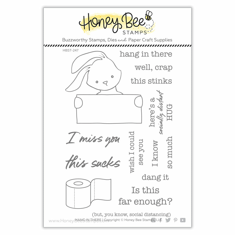 Load image into Gallery viewer, Hang In There | 4x6 Stamp Set