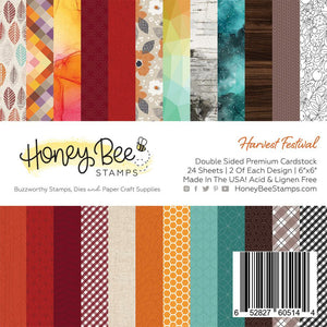 Harvest Festival | 6x6 Paper Pad | 24 Double Sided Sheets