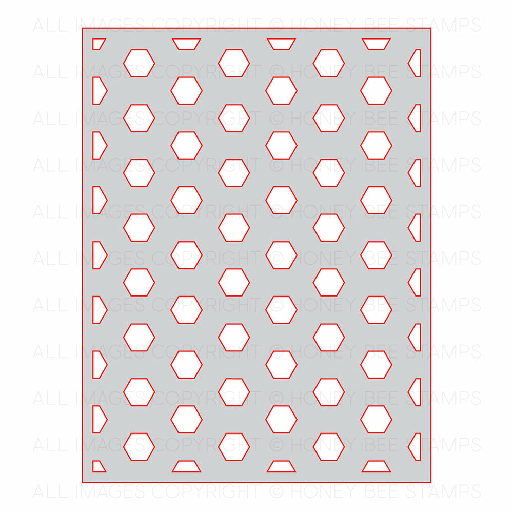 Load image into Gallery viewer, Hexagon Cover Plate - Base | Honey Cuts