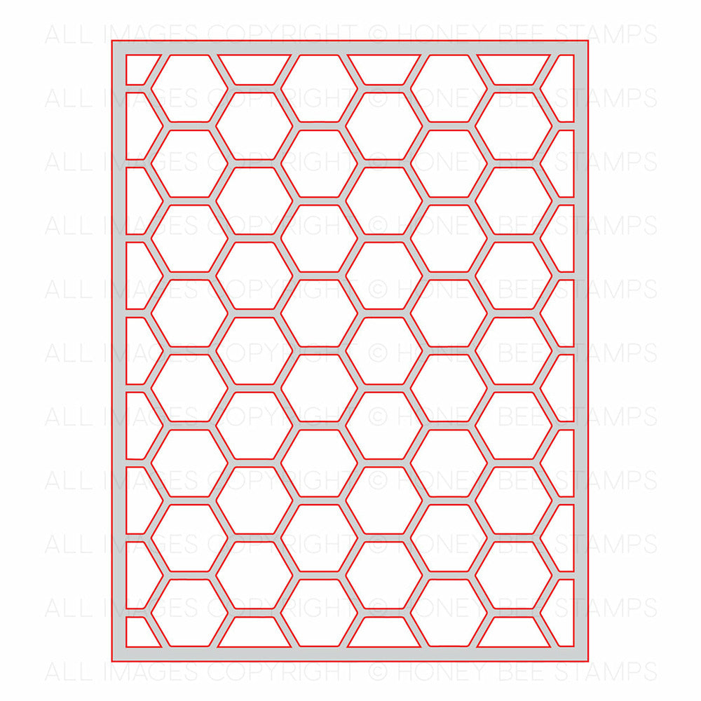 Load image into Gallery viewer, Hexagon Cover Plate - Top | Honey Cuts
