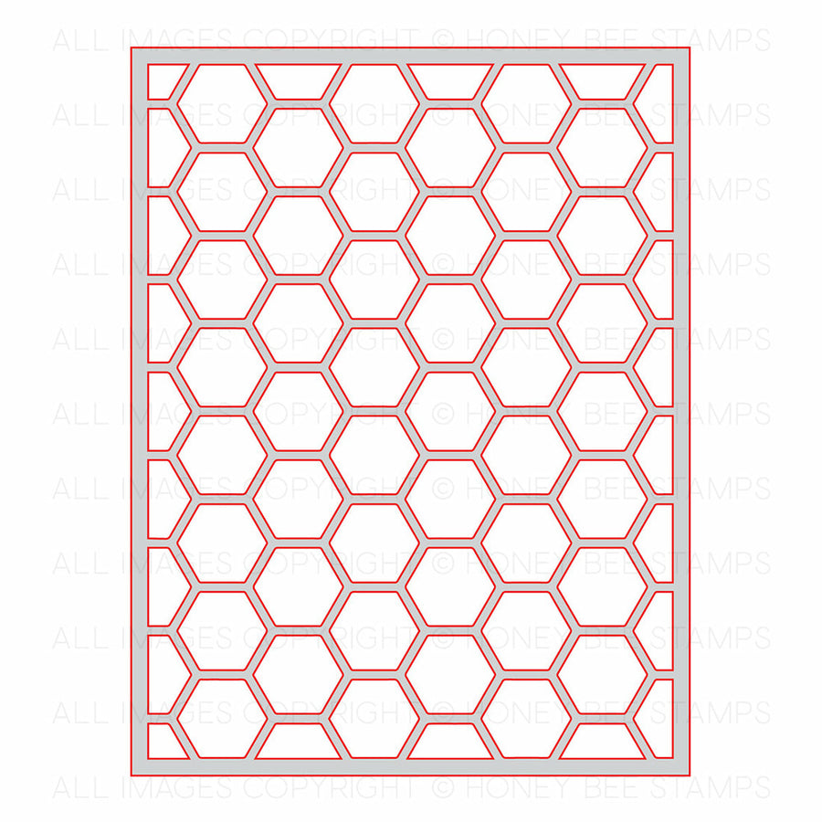 Hexagon Cover Plate Top | Honey Cuts