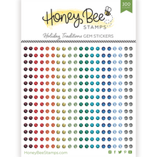 Load image into Gallery viewer, Gem Stickers | 300 Count | Holiday Traditions