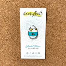 Load image into Gallery viewer, Honey Jar | Limited Edition Enamel Pin | RETIRING!
