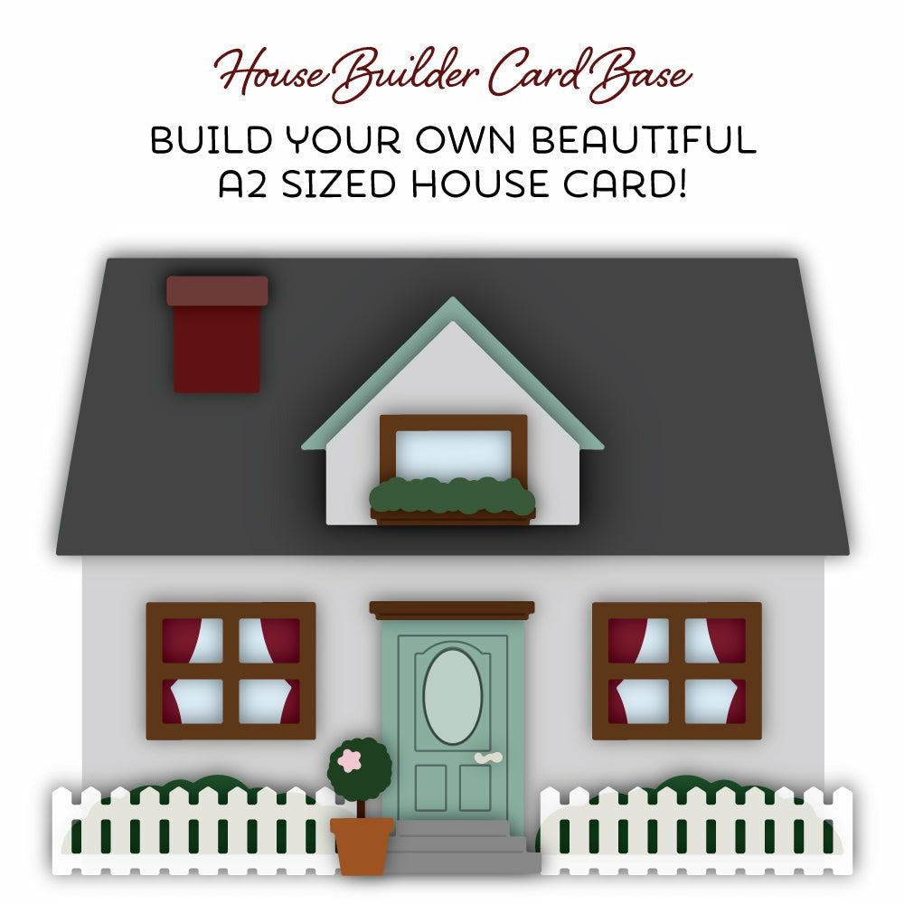 Load image into Gallery viewer, House Builder Card Base | Honey Cuts