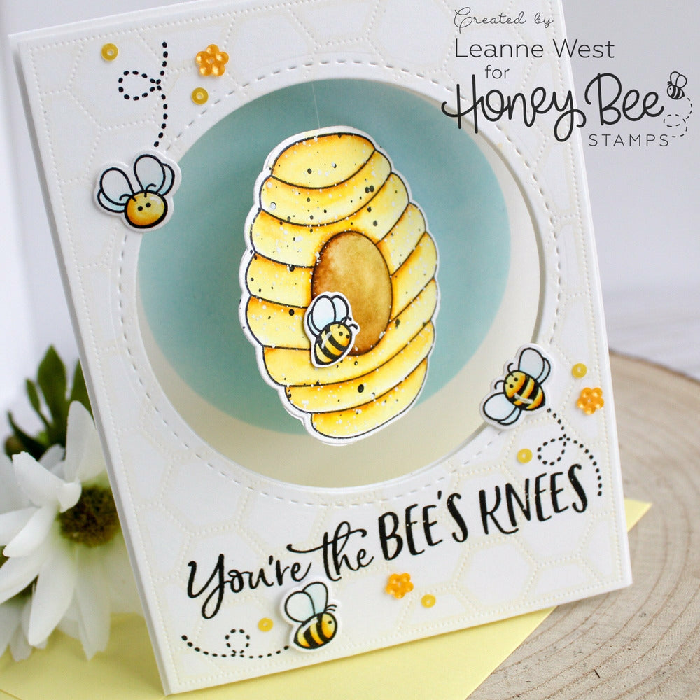 Load image into Gallery viewer, Bee Hive | 3x4 Stamp Set