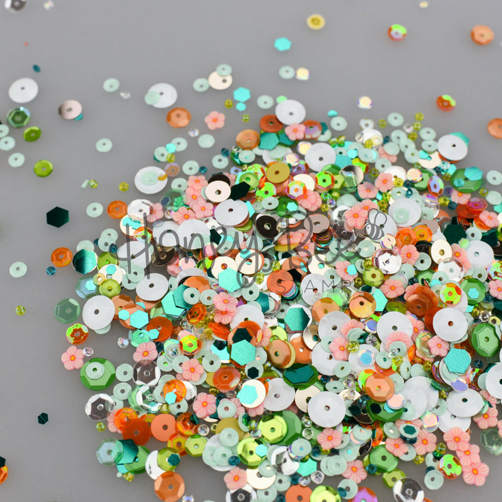 Load image into Gallery viewer, Melon Ball | Sequin Mix