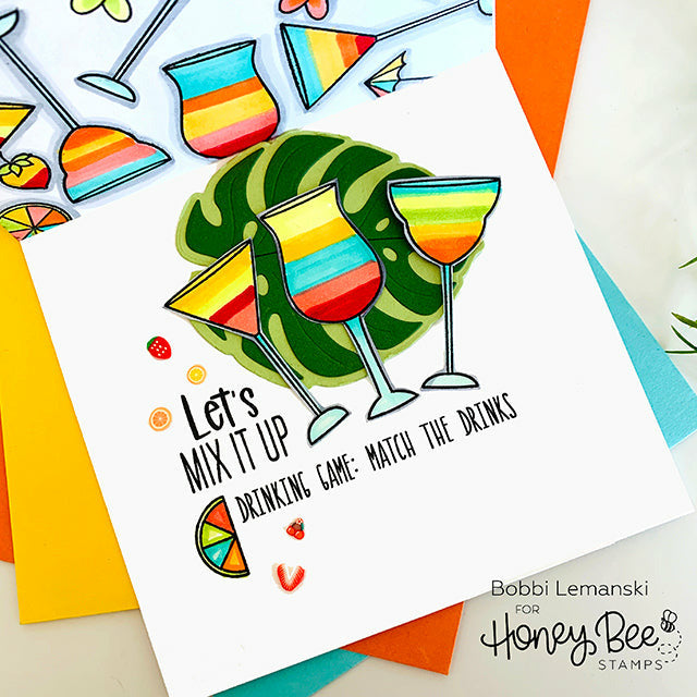 Load image into Gallery viewer, Raise A Glass | 6x6 Stamp Set