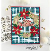 Load image into Gallery viewer, Country Christmas Wreath | 4x4 Stamp Set