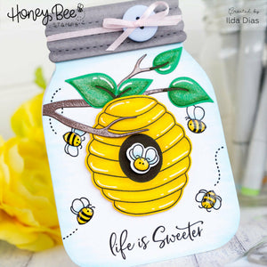 Layering Bee Hive | Honey Cuts