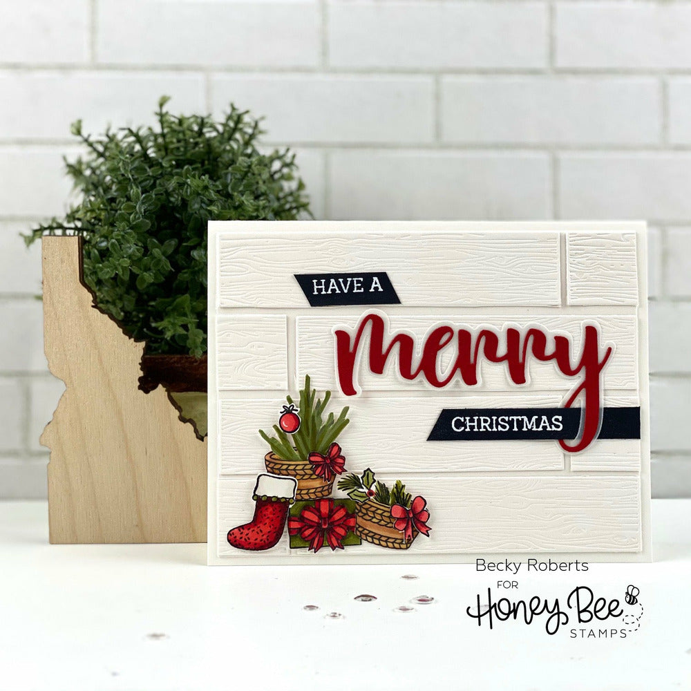 Load image into Gallery viewer, Merry | 3x4 Stamp Set
