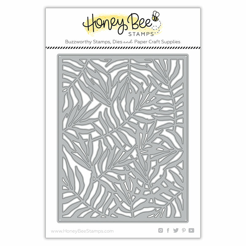 Honey Bee Stamps Palm Frond Cover Plate