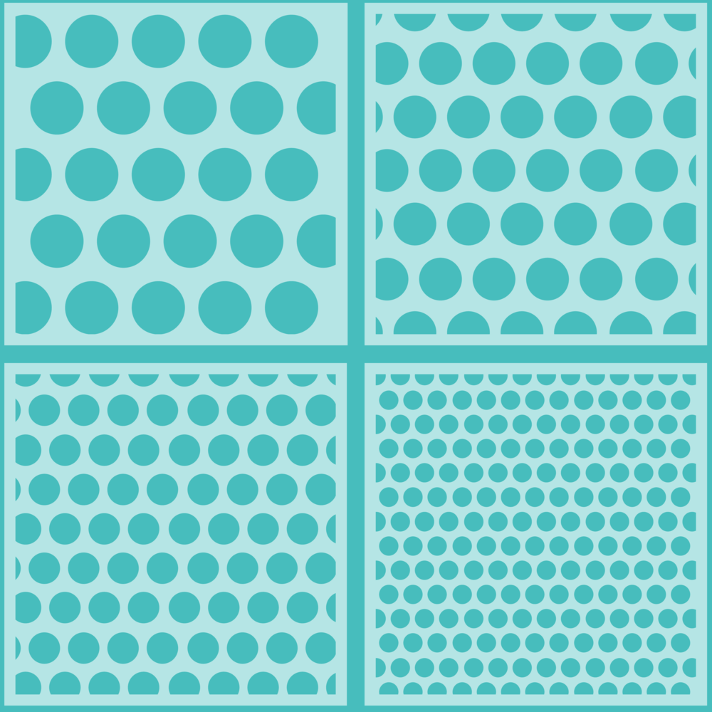 Load image into Gallery viewer, Polka Dot | Background Stencils | Set of 4