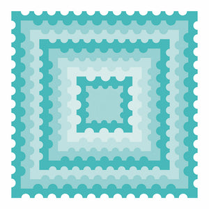 Postage Stamp Squares | Honey Cuts