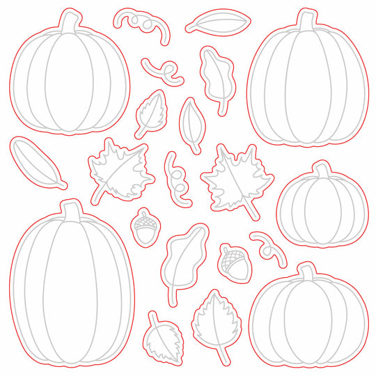 Honey Bee Stamps Pumpkin Patch Honey Cuts