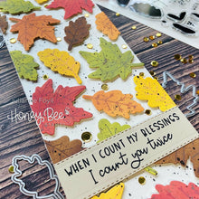 Load image into Gallery viewer, Hello Fall | Honey Cuts