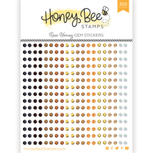 Load image into Gallery viewer, Gem Stickers | 300 Count | Raw Honey