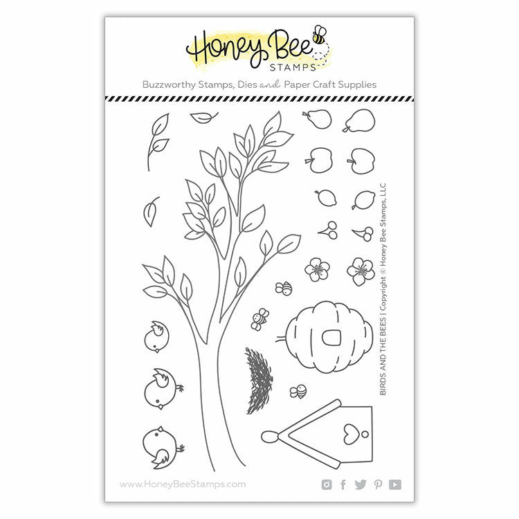 Honey Bee Stamps BIRDS AND THE BEES