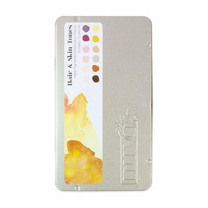 Nuvo Watercolor Pencils 12/Pkg Hair & Skin Tones