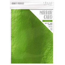 Load image into Gallery viewer, Craft Perfect | Mirror Card | 8.5 x 11 5/pkg | Emerald Green