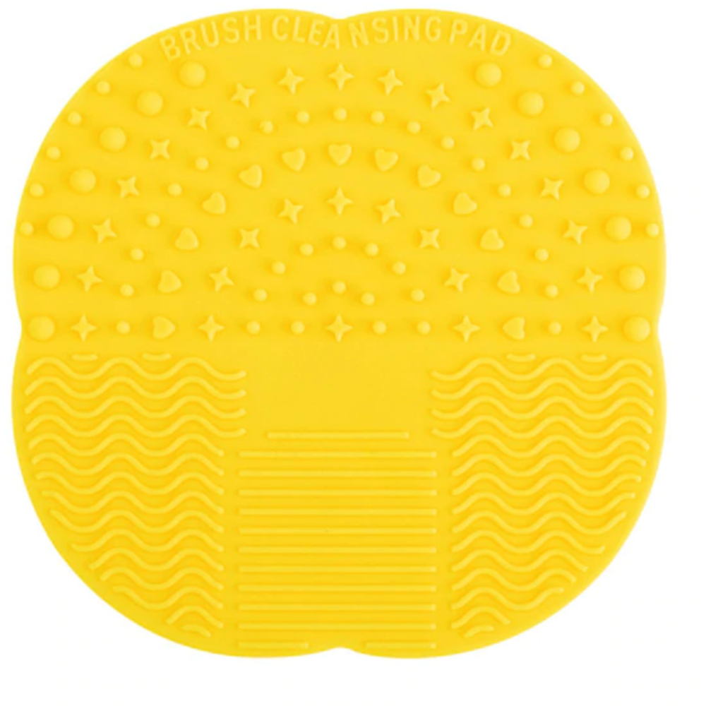 Load image into Gallery viewer, Silicone Brush Scrubber | Yellow