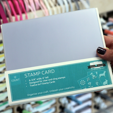 Load image into Gallery viewer, Stamp-n-Storage | 6 x 7 Stamp Card | 12pk