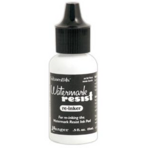Ranger Inkssentials Watermark Resist Ink Refill .5 fl oz