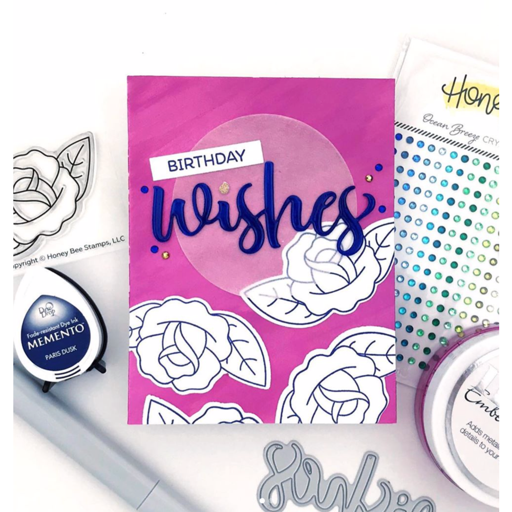 Load image into Gallery viewer, Tattoo Rose | 2x3 Stamp Set