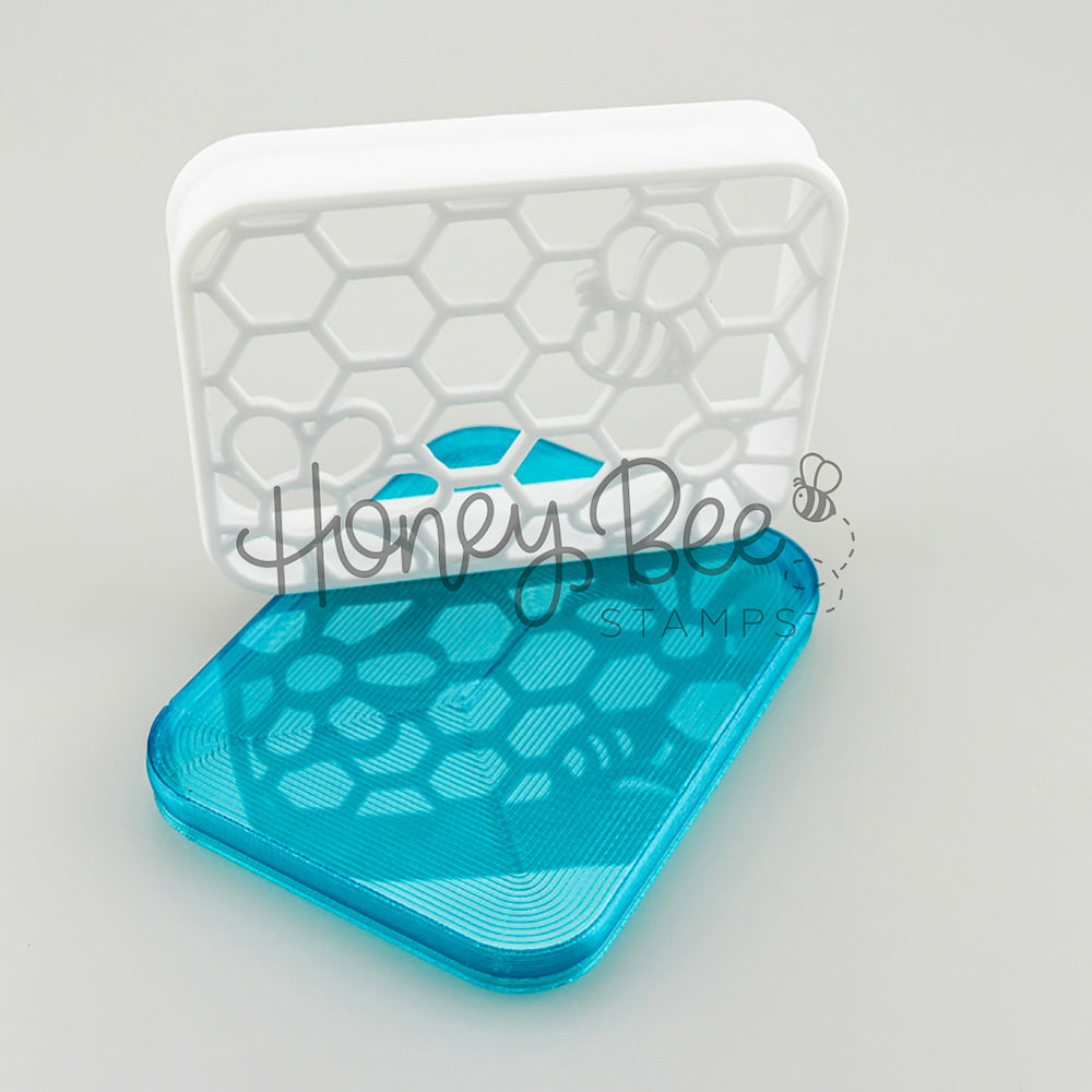 Load image into Gallery viewer, Honey Bee Shammy Case | White and Teal