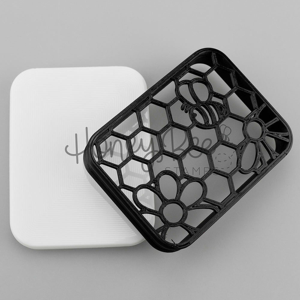 Load image into Gallery viewer, Honey Bee | Shammy Case | Black