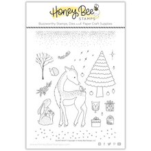 Load image into Gallery viewer, Silent Night | 6x8 Stamp Set