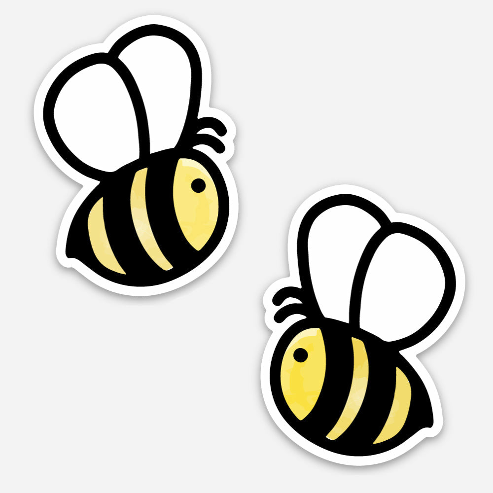 Load image into Gallery viewer, Honey Bee Stickers | Set of 2 | Sweet Bees