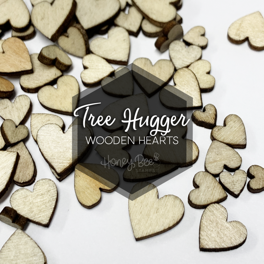Tree Hugger | Wooden Hearts