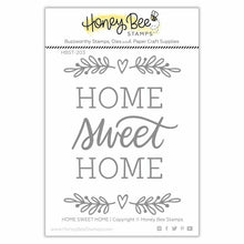 Load image into Gallery viewer, Home, Sweet Home | 3x4 Stamp Set
