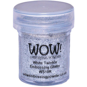 WOW! Embossing Glitter, White Twinkle