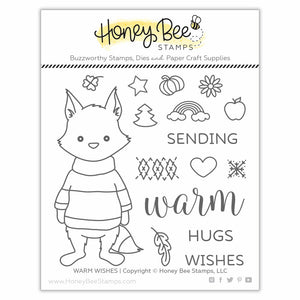 Warm Wishes | 4x4 Stamp Set