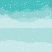 Load image into Gallery viewer, Winter Wonder Scene Builder | Background Stencils | Set of 6