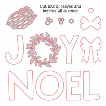 Load image into Gallery viewer, Joy Noel Wreath | Honey Cuts